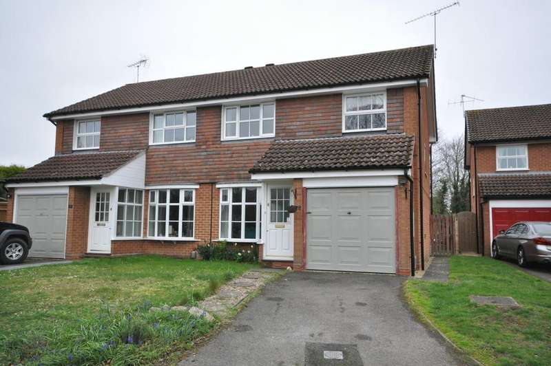 3 Bedrooms Semi Detached House for sale in Armstrong Way, Woodley, Reading, RG5 4NW