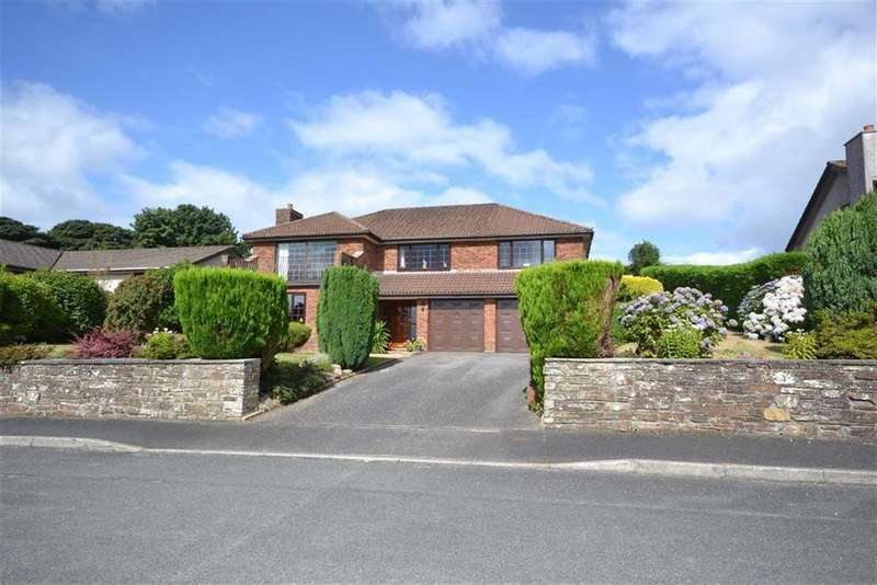 4 Bedrooms Detached House for sale in Hillside Road, St Austell, Cornwall, PL25