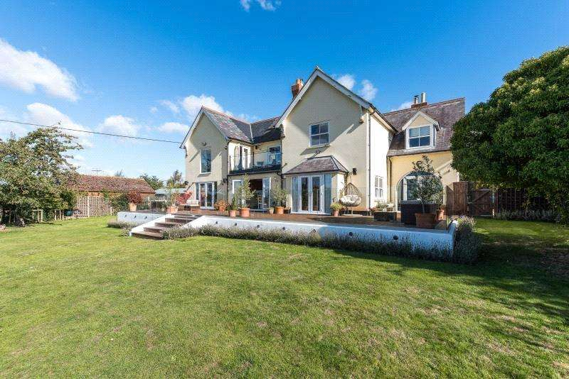5 Bedrooms Detached House for sale in Hammer Lane, Warborough, OX10