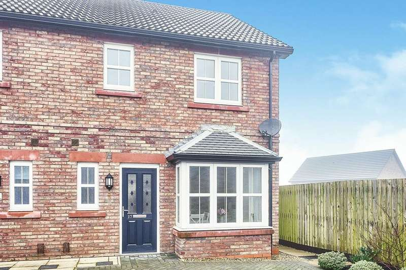 3 Bedrooms Semi Detached House for sale in Waters Edge Close, Whitehaven, CA28