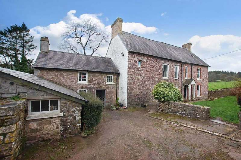 4 Bedrooms Farm House Character Property for sale in Llanddarog CARMARTHENSHIRE