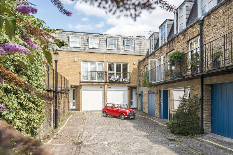 4 Bedrooms Mews House for sale in St. Stephens Mews, London, W2