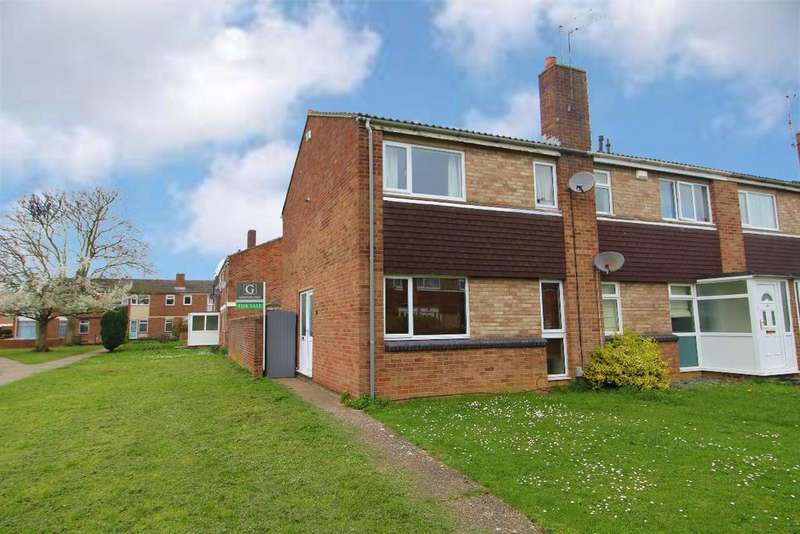 3 Bedrooms End Of Terrace House for sale in Lovat Walk, Kempston, MK42