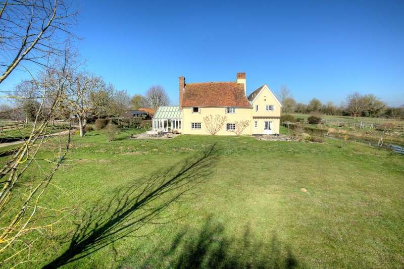 5 Bedrooms Farm House Character Property for sale in Pentlow, Sudbury CO10 7JT