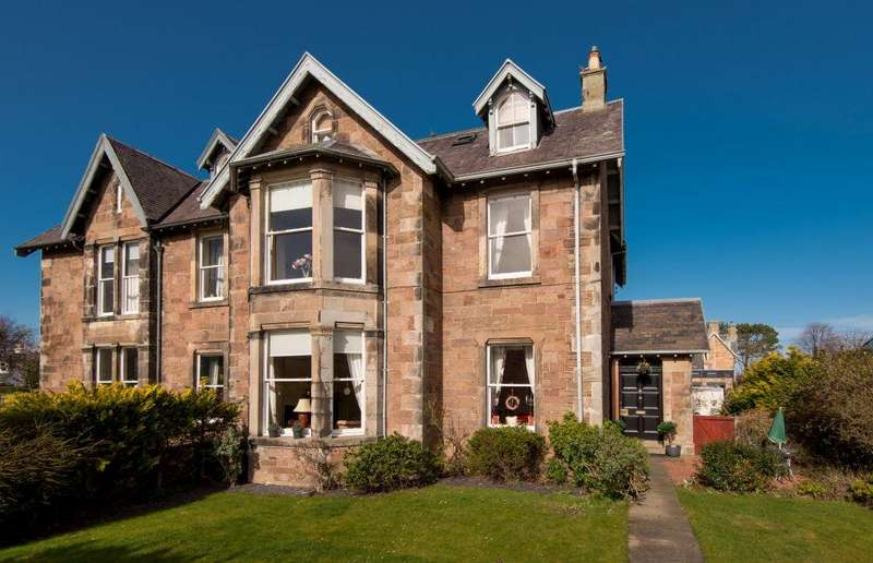 7 Bedrooms Semi Detached House for sale in 8 Dirleton Avenue, North Berwick, East Lothian,EH39 4AY