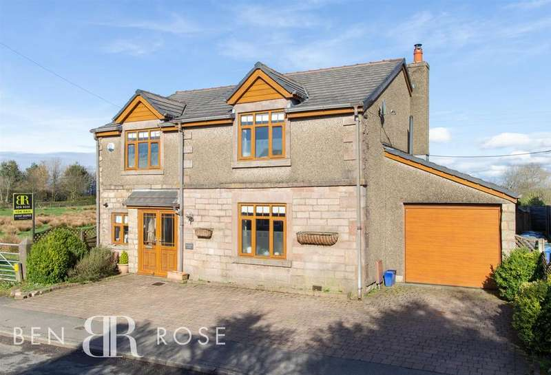 4 Bedrooms Detached House for sale in Bury Lane, Withnell, Chorley