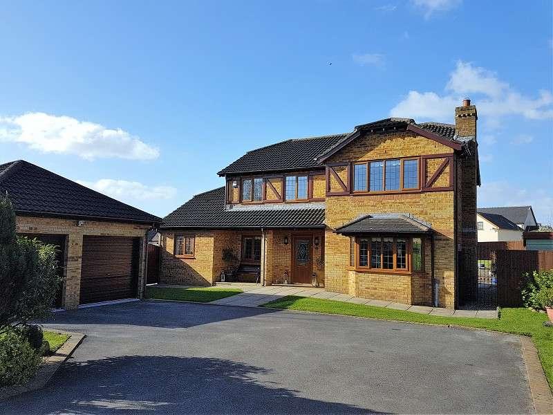 4 Bedrooms Detached House for sale in Eglwys Nunnydd , Margam, Port Talbot, Neath Port Talbot. SA13 2PS