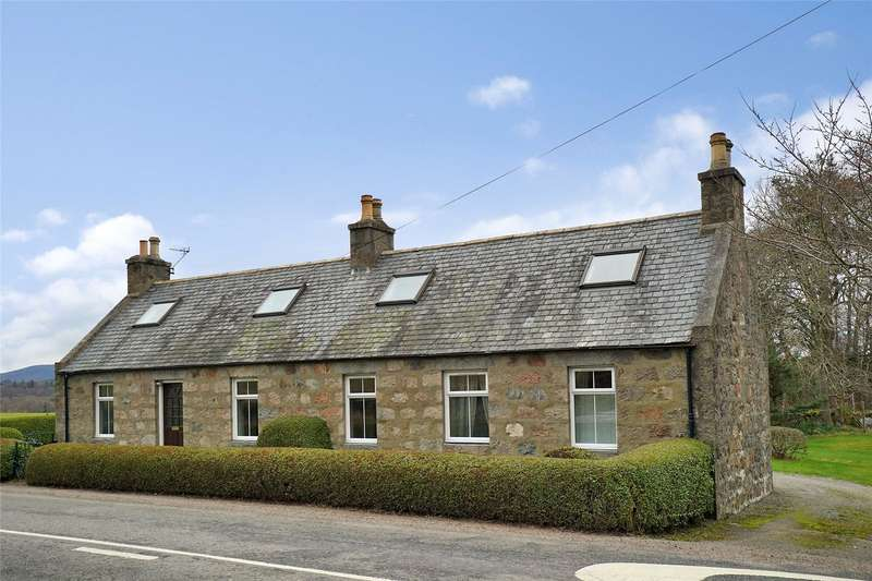 4 Bedrooms Detached House for sale in Wester Durris Cottage, Kirkton of Durris, Banchory, Aberdeenshire, AB31