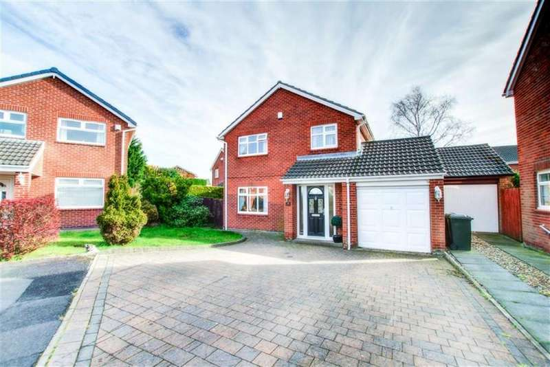 4 Bedrooms Detached House for sale in Agricola Gardens, Hadrian Park, Wallsend, NE28