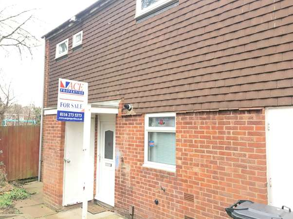 2 Bedrooms Terraced House for sale in Allinson Close, Leicester, Leicestershire, LE5