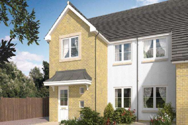 3 Bedrooms Semi Detached House for sale in Annick Road, Irvine, KA11