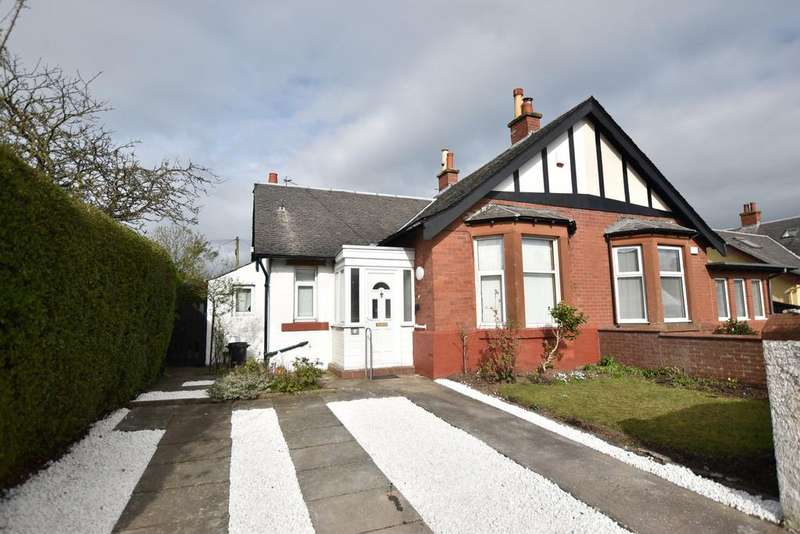 2 Bedrooms Semi Detached Bungalow for sale in 6 Caerlaverock Avenue, Prestwick, KA9 1HS