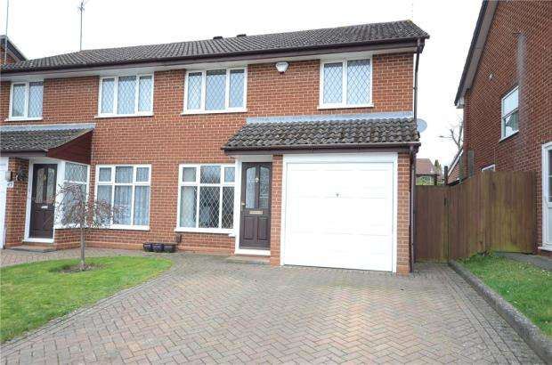3 Bedrooms Semi Detached House for sale in Laurel Close, Wokingham, Berkshire