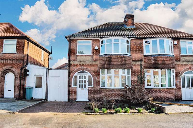 3 Bedrooms Semi Detached House for sale in Fairbourne Road, Leicester