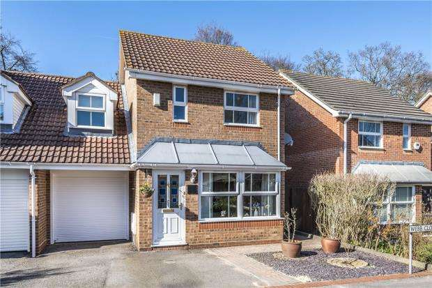 3 Bedrooms End Of Terrace House for sale in Webb Close, Temple Park, Binfield