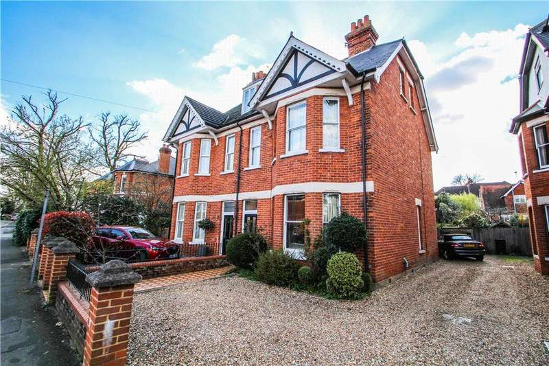 6 Bedrooms Semi Detached House for sale in The Avenue, Camberley, Surrey, GU15