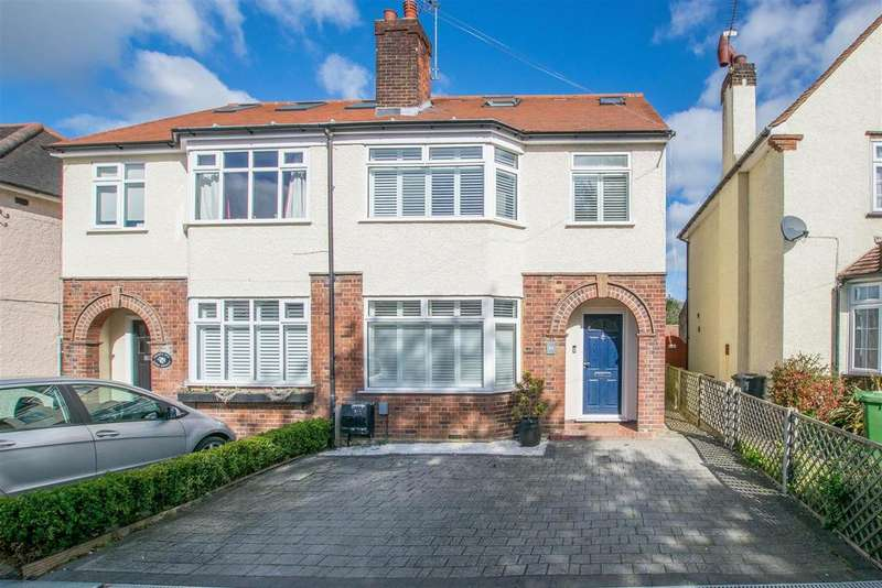 4 Bedrooms Semi Detached House for sale in Lord Street, Hoddesdon