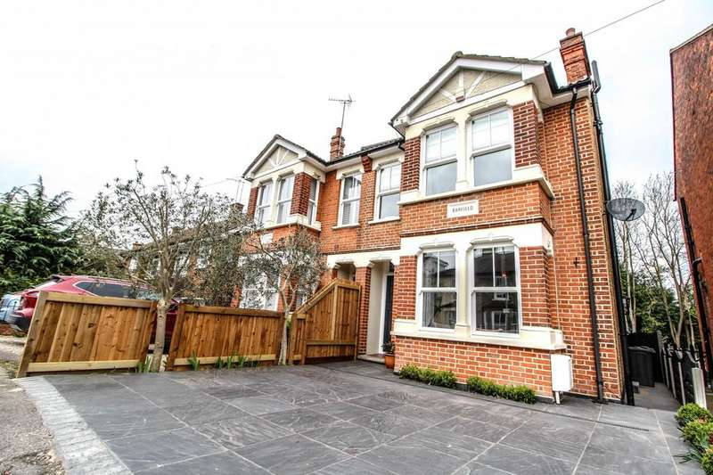 4 Bedrooms Semi Detached House for sale in Woodman Road, Warley, Brentwood, Essex, CM14