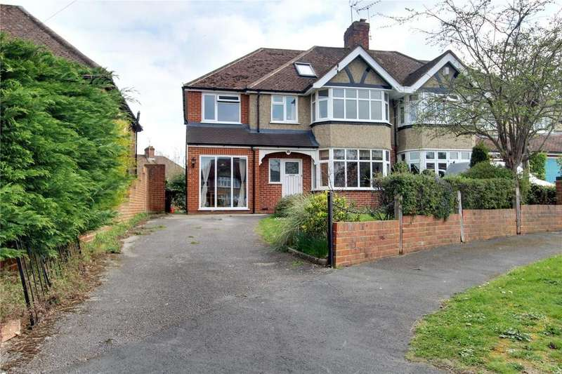5 Bedrooms Semi Detached House for sale in Hungerford Drive, Reading, Berkshire, RG1