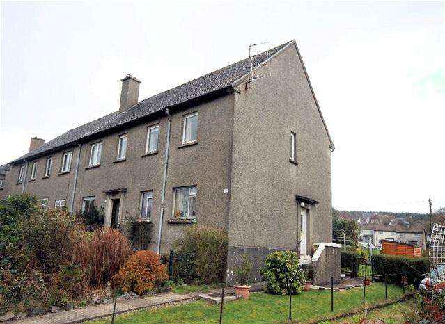 3 Bedrooms Flat for sale in 23, Brodie Crescent, Lochgilphead