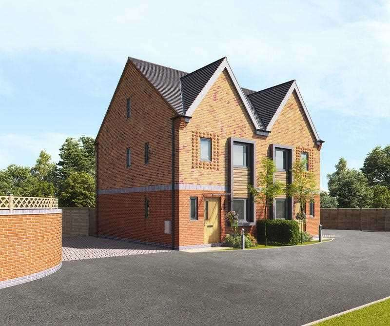 4 Bedrooms Semi Detached House for sale in Rosambeve Court, 227 Church Road, Birmingham