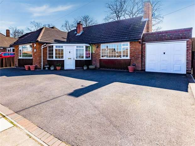 5 Bedrooms Detached Bungalow for sale in Oakside Crescent, Leicester