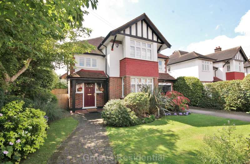 4 Bedrooms Detached House for sale in Westbury Road, New Malden