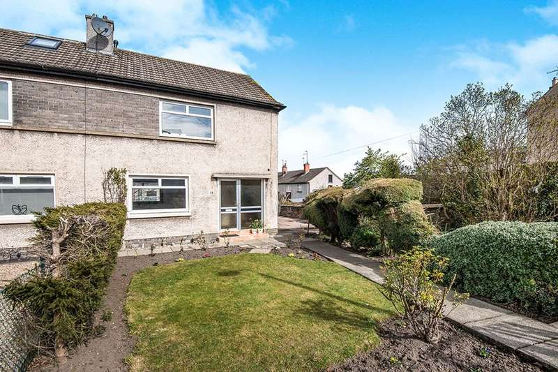 2 Bedrooms Semi Detached House for sale in Mayfield Crescent, Loanhead, EH20