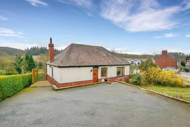 2 Bedrooms Detached Bungalow for sale in The Hill, Glapwell