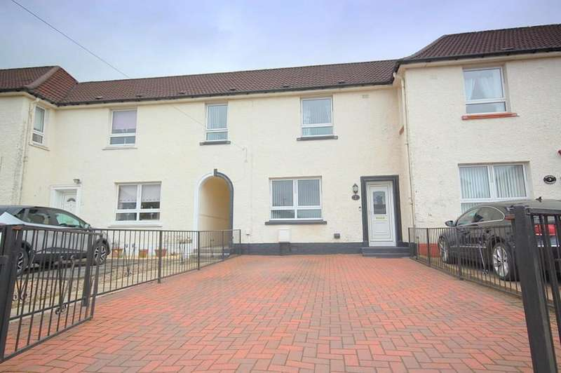 3 Bedrooms Terraced House for sale in Canberra Avenue, Dalmuir G81 4LH