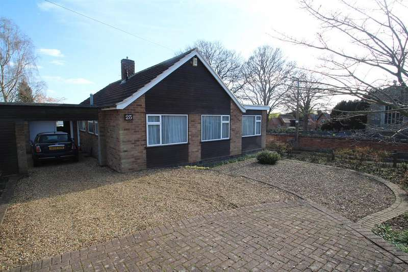 3 Bedrooms Bungalow for sale in Church Leys Avenue, Rearsby, Leicester