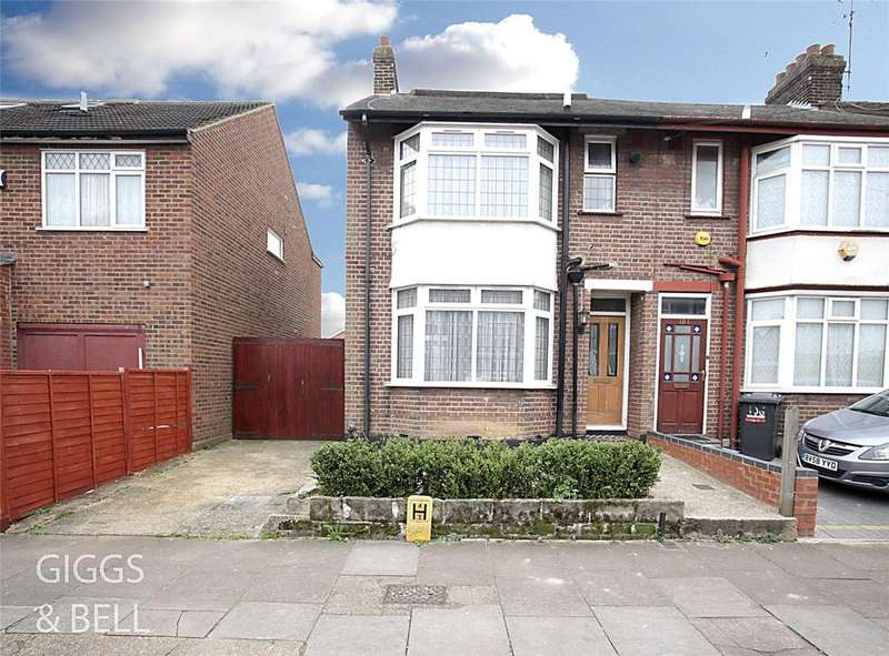 3 Bedrooms End Of Terrace House for sale in St. Augustine Avenue, Luton, Bedfordshire, LU3