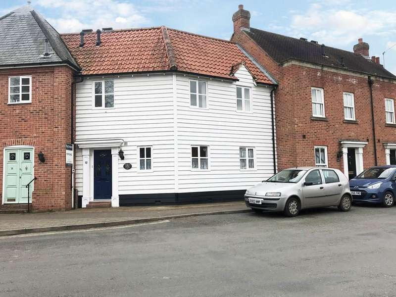 2 Bedrooms Terraced House for sale in Church Square, Bures St Mary