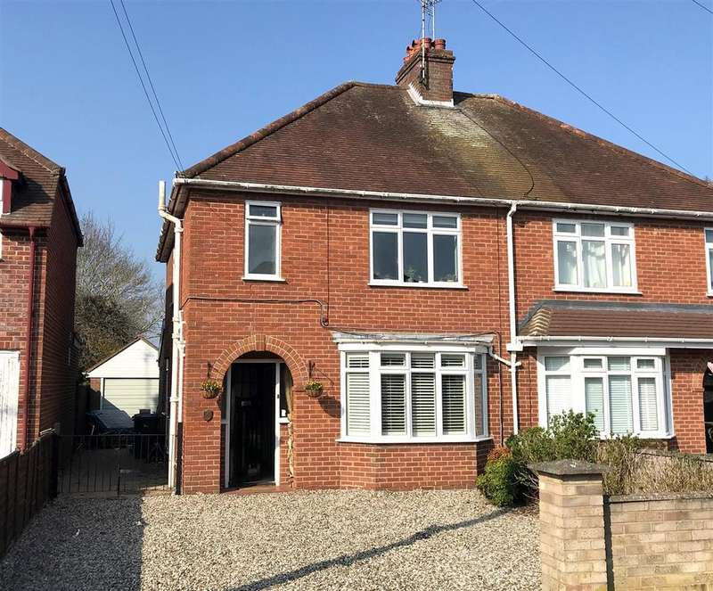 3 Bedrooms Semi Detached House for sale in Bartlemy Road, Newbury