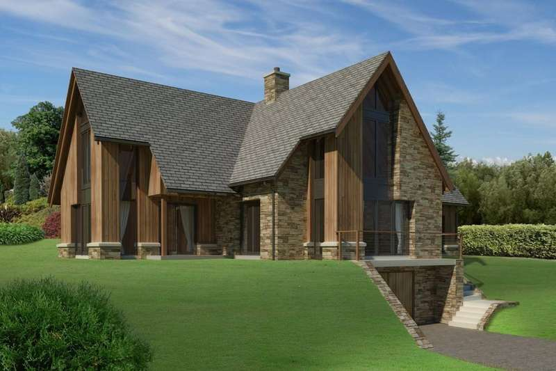 5 Bedrooms Detached House for sale in New Build, Dunkeld, Trochry