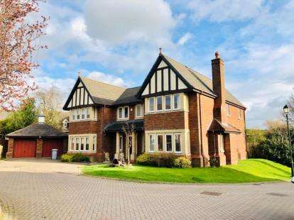 5 Bedrooms Detached House for sale in Jacobs Way, Pickmere, Knutsford, Cheshire
