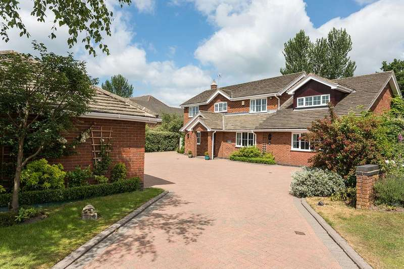 4 Bedrooms Detached House for sale in Prestwick Close, Tytherington