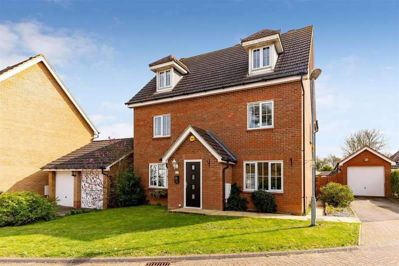 5 Bedrooms Detached House for sale in Coneygate, Meppershall, Shefford