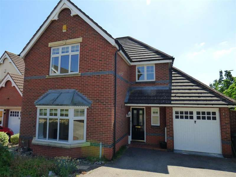 4 Bedrooms Detached House for rent in Alvington Way, Market Harborough