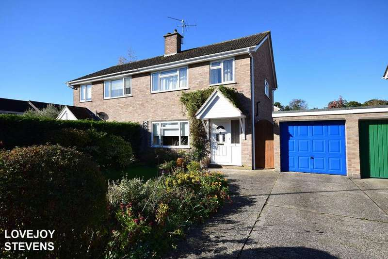 3 Bedrooms Semi Detached House for sale in Skippons Close, Newbury RG14
