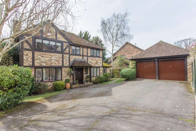 4 Bedrooms Detached House for sale in EXCEPTIONAL LOCATION. LYNDHURST CLOSE, MARTINS HERON, BERKSHIRE, RG12 9QP