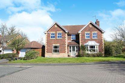 4 Bedrooms Detached House for sale in Fearndown Way, Tytherington, Macclesfield, Cheshire