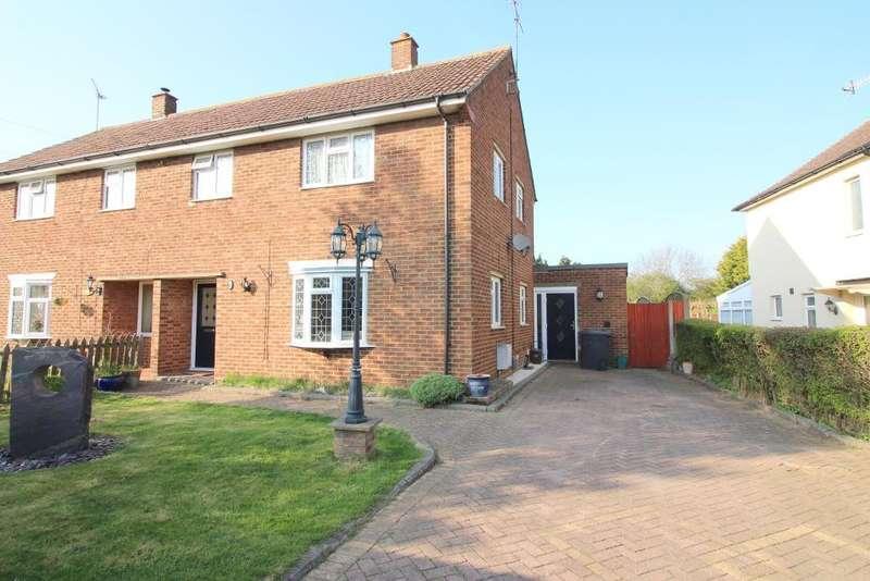 3 Bedrooms Semi Detached House for sale in Elmtree Avenue, Cockernhoe, Hertfordshire, LU2 8QA