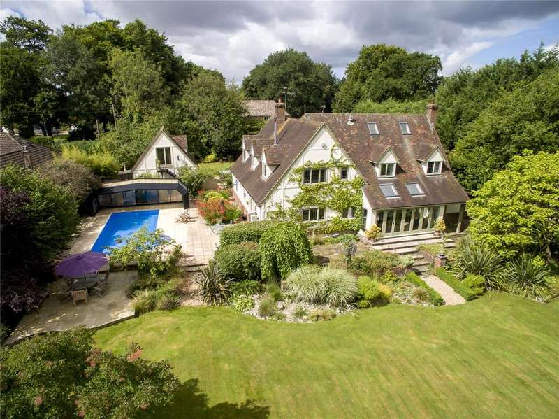4 Bedrooms Detached House for sale in Craven Road, Inkpen, Hungerford, Berkshire, RG17