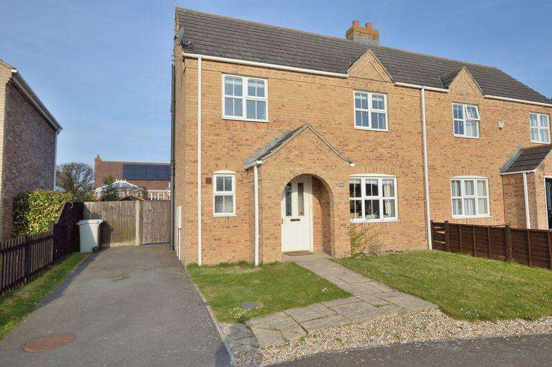 3 Bedrooms Semi Detached House for sale in 24 St Andrews Walk, Woodhall Spa