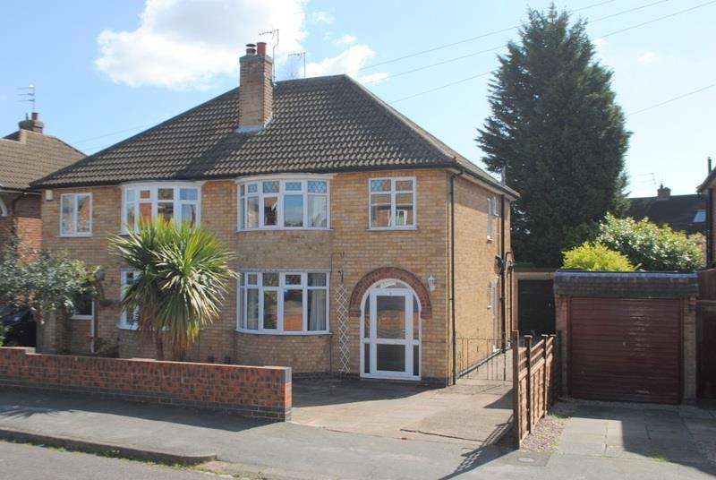 3 Bedrooms Semi Detached House for sale in Langdale Avenue, Loughborough