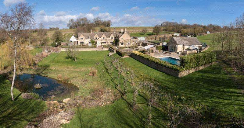 5 Bedrooms Detached House for sale in Andoversford, Cheltenham, Gloucestershire, GL54