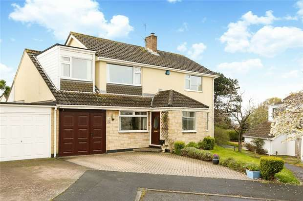 4 Bedrooms Detached House for sale in Nore Park Drive, Portishead, Bristol