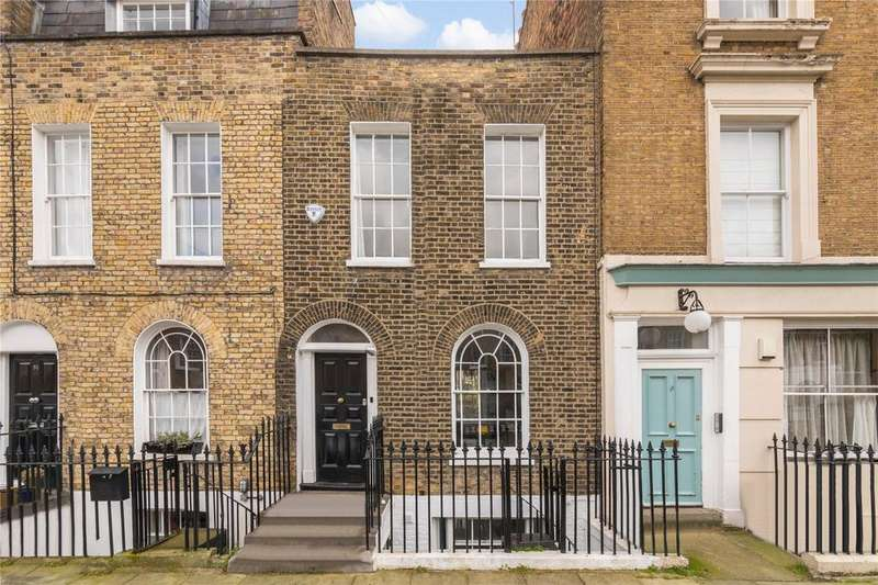 2 Bedrooms Terraced House for sale in Brooksby Street, Barnsbury, London