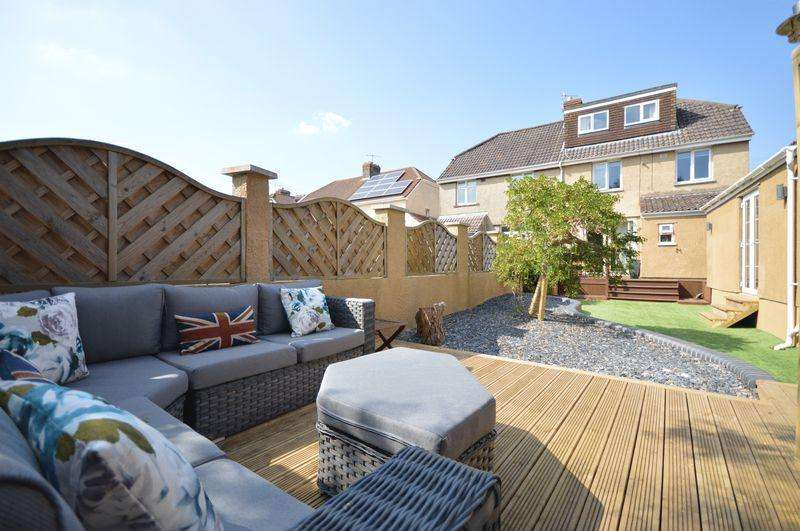 5 Bedrooms Semi Detached House for sale in Kings Head Lane, Uplands, Bristol